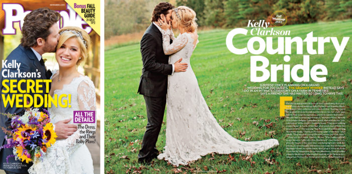 Kelly Clarkson & Brandon Blackstock wedding at Blackberry Farm in Tennessee