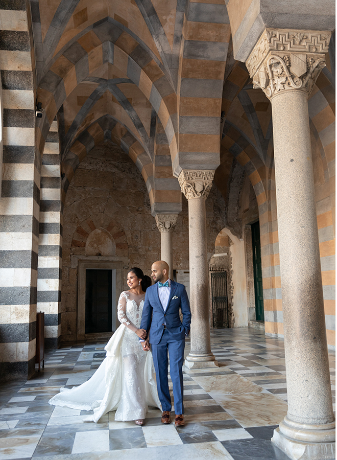Destination wedding on the Amalfi Coast