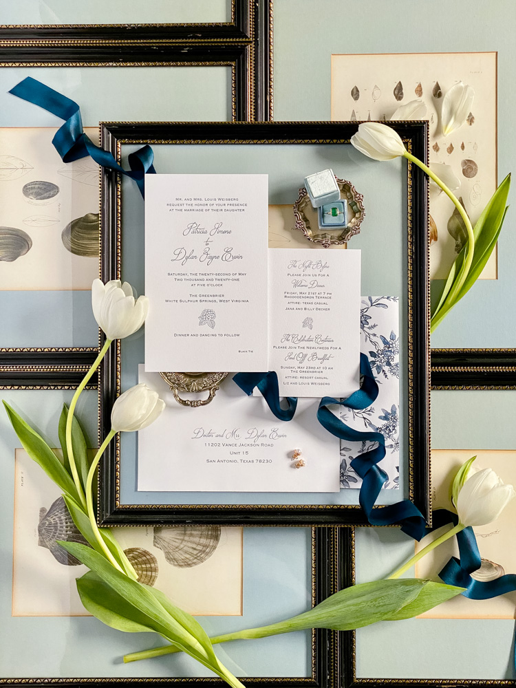 Trish and Dylan's Greenbrier Wedding