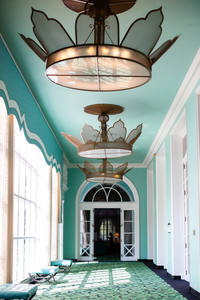 Hallway at The Greenbrier - White Sulfur Springs, WV