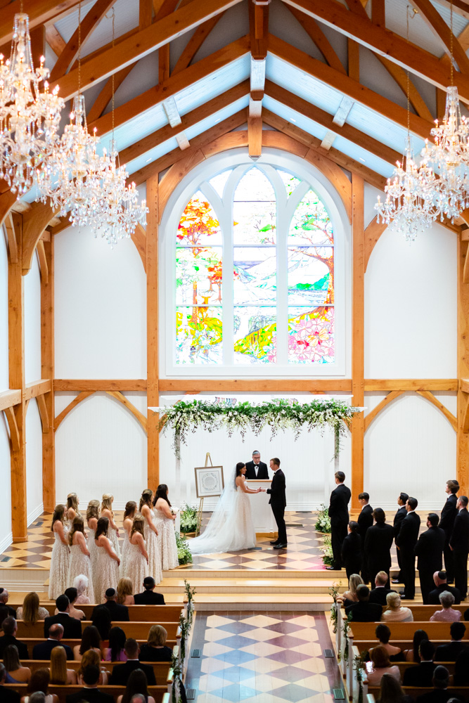 Wedding ceremony at The Greenbrier