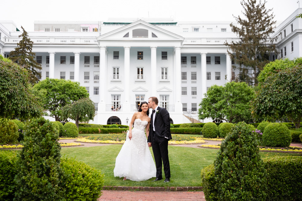 West Virginia wedding at The Greenbrier